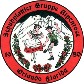 German dancers in Central Florida - Schuhplattler Gruppe Alpenrose Orlando Florida